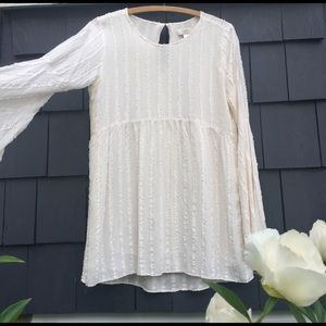 Flowy Bell Sleeved Top - S